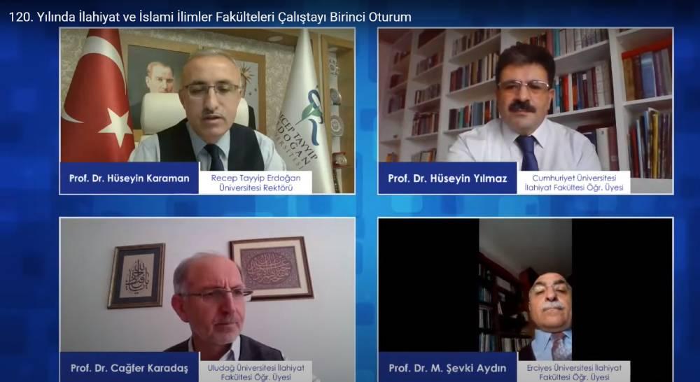 120'nci-yilinda ilahiyat ve islami ilimler calistayi