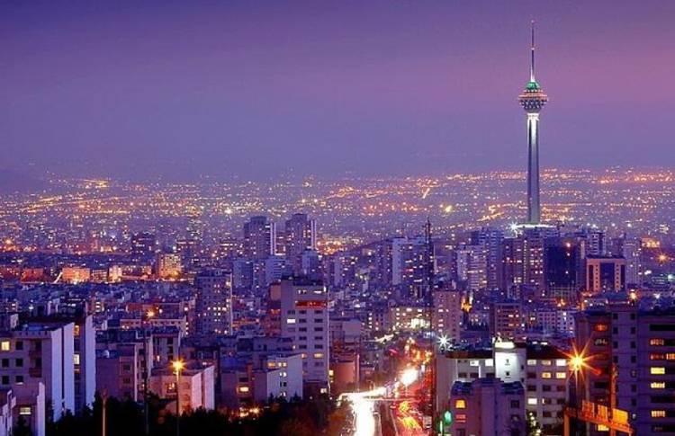 Tahran'da akşam üzeri