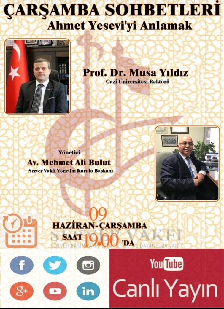 SV Çarşamba Sohbetleri Ahmet Yeseviyi Anlamak (1)